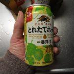日本で一番おいしいプレミアムビールはコレ キリン一番搾り とれたてホップ