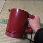 電気ポットの修理に挑戦