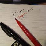 老人向け筆記具の最高峰は( ^ω^)・・・