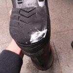 また 長靴修理