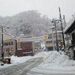 2021年初めての雪ふる宇奈月温泉行ってみた